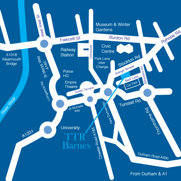 TTR Barnes Map