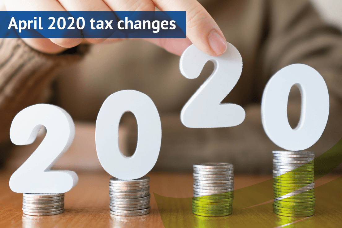 April 2020 tax changes