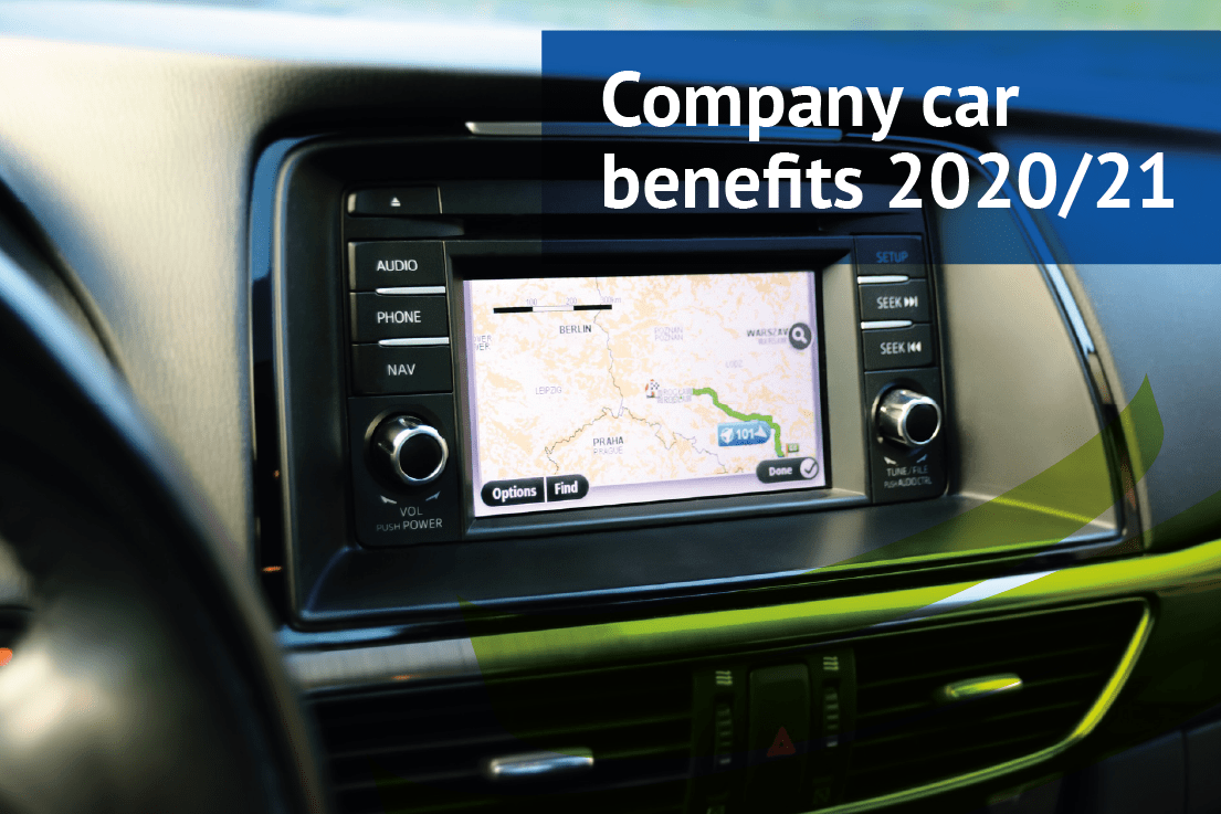 Company car benefits 2020/21