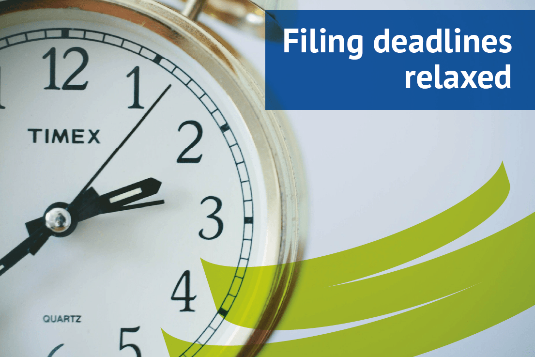 Companies House deadlines relaxed