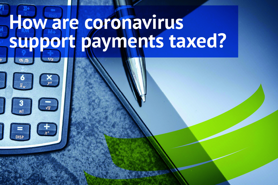 How are coronavirus support payments taxed?