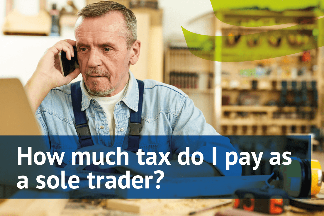 How much tax do I pay as a sole trader?