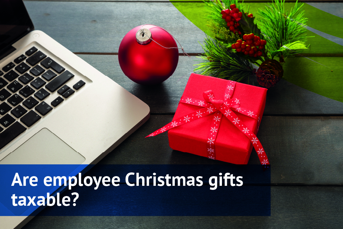 Are employee Christmas gifts taxable?