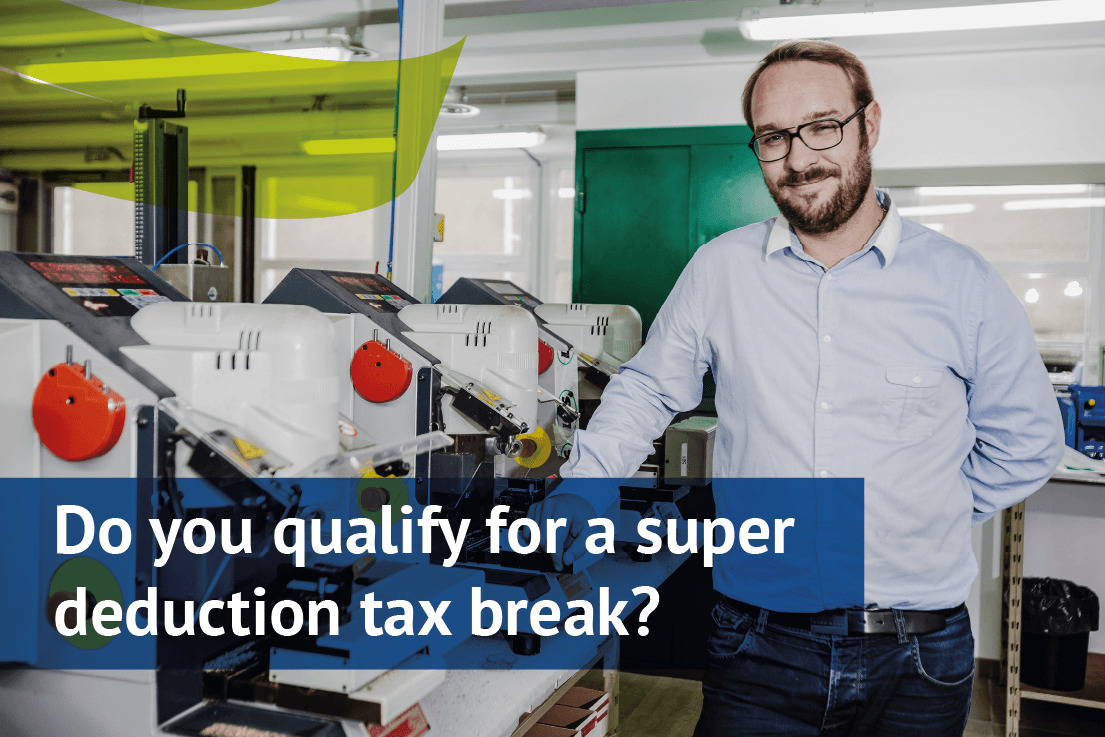 do you qualify for a super deduction tax break