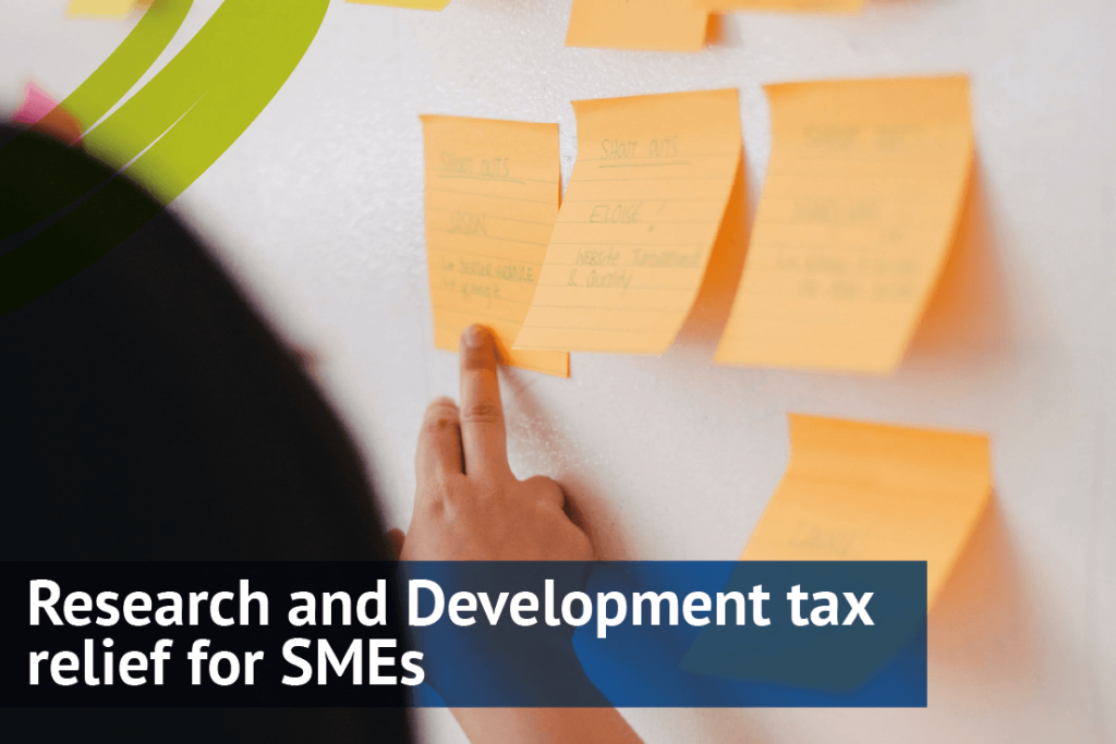 Research and Development tax relief